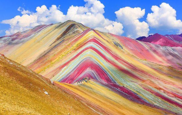 Begin trek to Rainbow Mountain