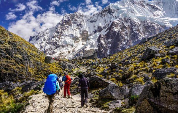 Trekking over Salkantay