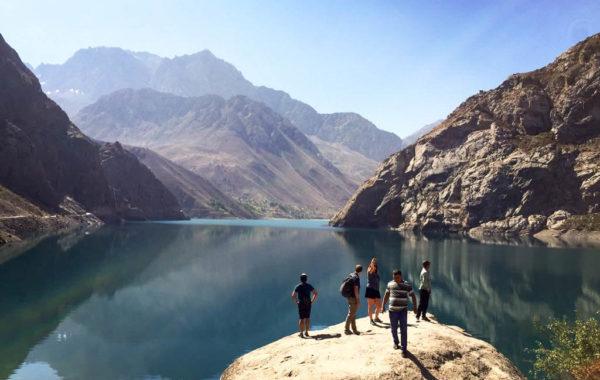 Penjikent - Iskander Kul - Dushanbe