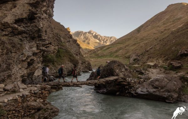 Dushanbe – Pskan (Jeep, 170 km; Trekking 3km)