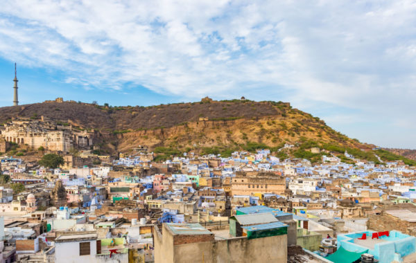 Visit the Brahmin blue houses of Bundi
