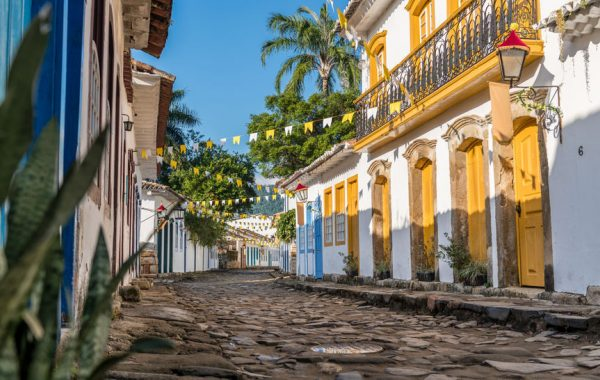 Visit the historic town of Paraty