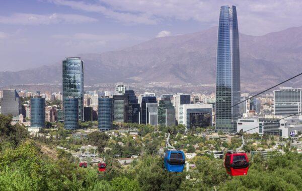 Climb San Cristobal Hill in Santiago