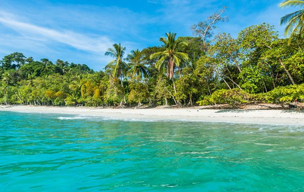 Hit the beach in Manuel Antonio National Park