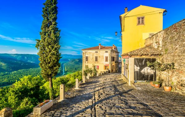 Istria's hilltop villages