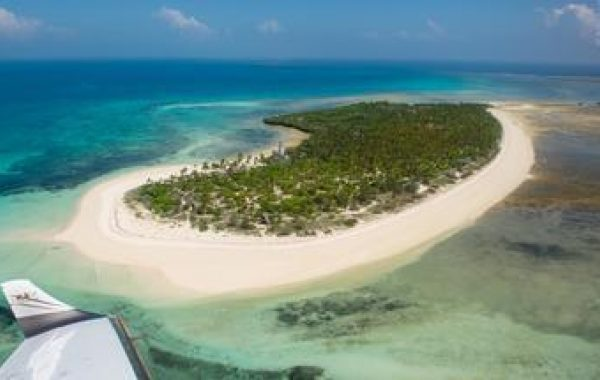 Stay at an eco-lodge on a private island
