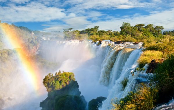 Witness thundering Iguazu