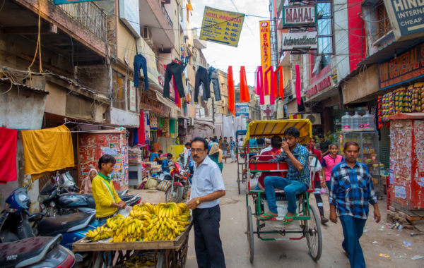 Get lost in old Delhi in the Chandni Chowk