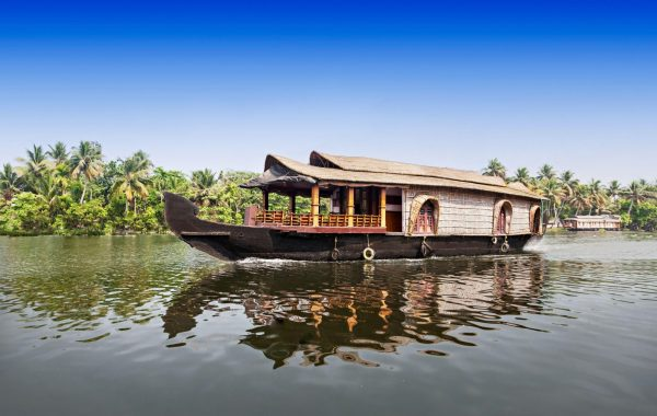 Sail Kerala's waterways on a houseboat