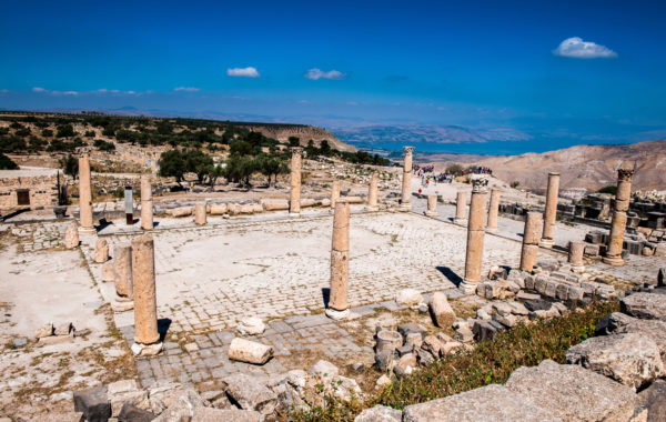 Explore northern Jordan's little-visited archaeological ruins at Umm Qais
