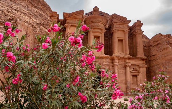 Hike the Al Khubtha trail for views of ancient Petra