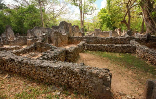 Explore the Gede ruins