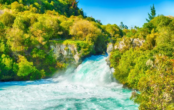Hike Spa Park to Huka Falls