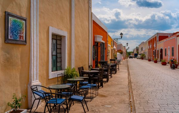 Take a trip to the charming colonial town of Valladolid