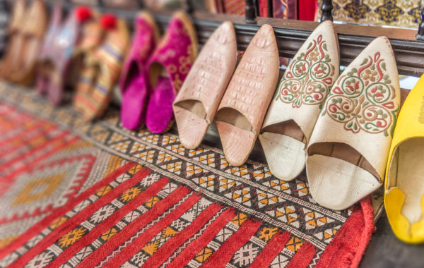 Design your own Moroccan slippers in Marrakesh