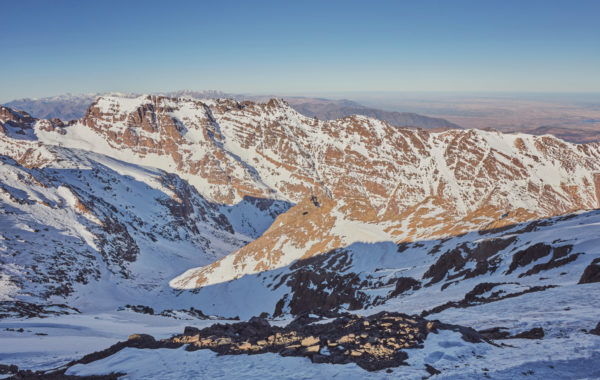 Hike up Mount Toubkal in the Atlas Mountains