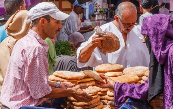 Grab a traditional Moroccan streetfood breakfast