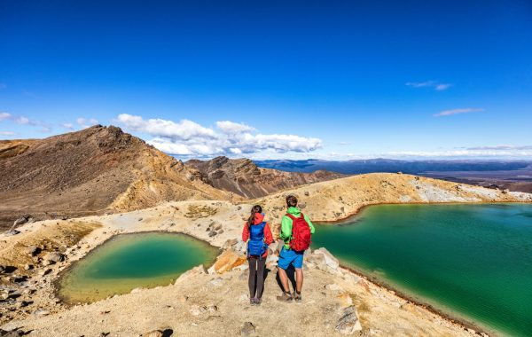 Tackle the 21km Tongariro Alpine Crossing