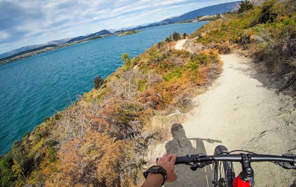 Mountain biking in Wanaka