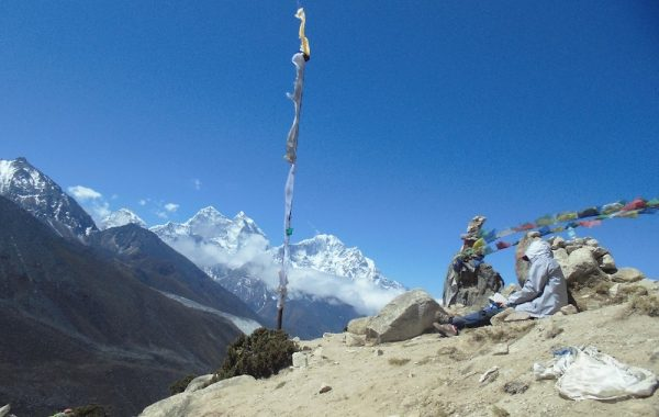Acclimatisation day in Dingboche