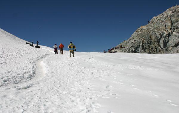 The Cho La Crossing to Dzongla