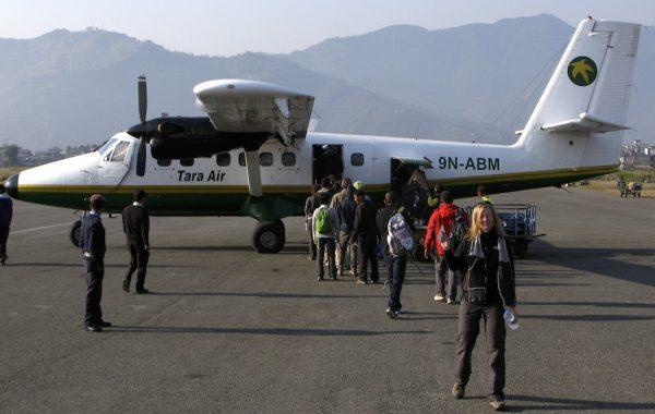 Fly to Pokhara