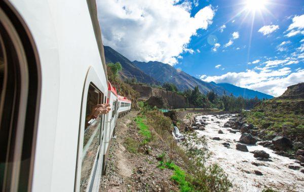 Take a scenic train to Machu Picchu
