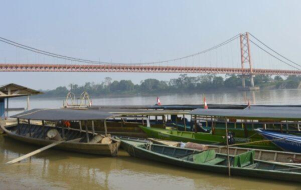 Cross the longest bridge in Peru