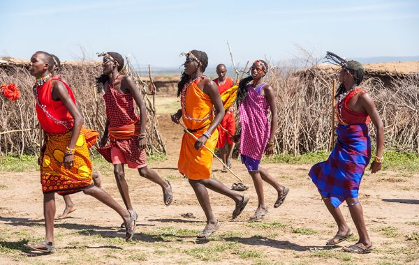 Take a cultural tour with the Masai or Meru peoples