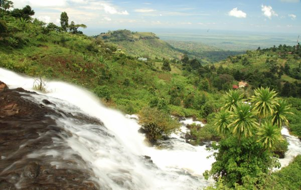 Cool off in the pools around Sipi Falls