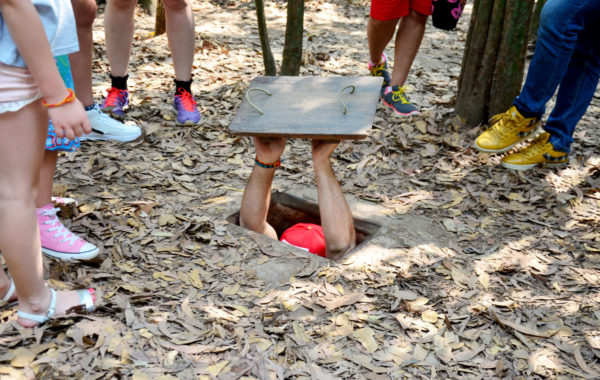Experience the war at Cu Chi tunnels
