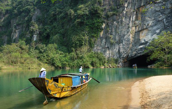 Hike, boat or swim Phong Nha's caves