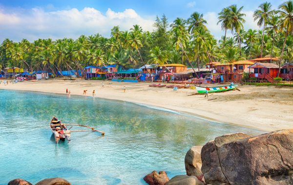 Relax on the beaches of Southern Goa