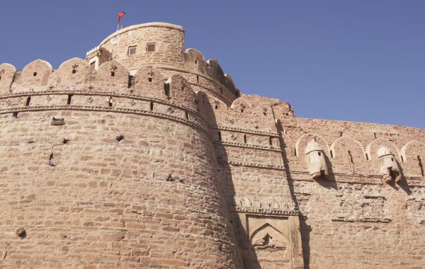 Explore Nagaur's 12th century fort