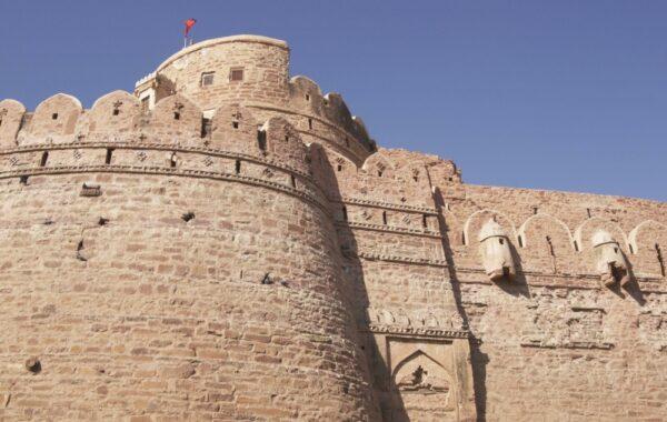Explore Nagaur's 12th century fort