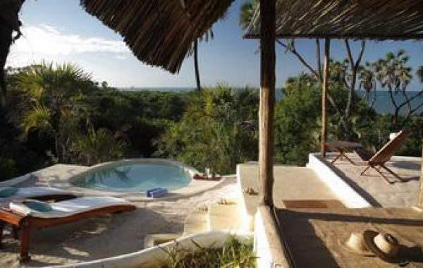 Relax at a secluded tropical resort