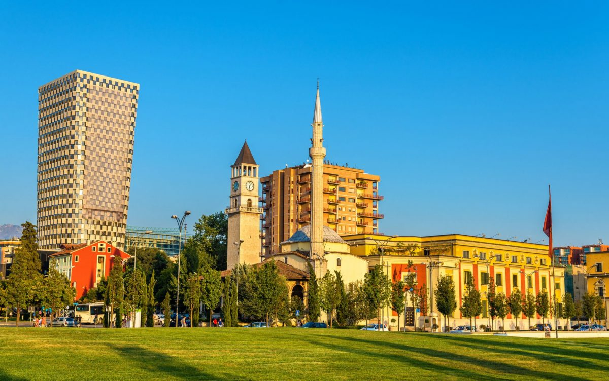 Albania Tirana The Ethem Bey Mosque