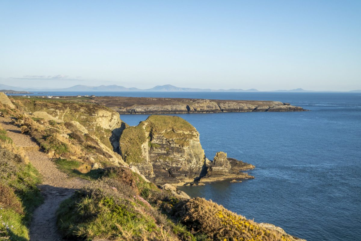 Anglesey Wales coast path uk
