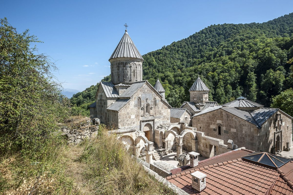 Armenia Dilijan National Park Haghartsin Monastery