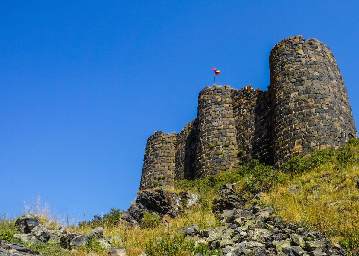 Armenia Mount Aragats Amberd Fortress Towers