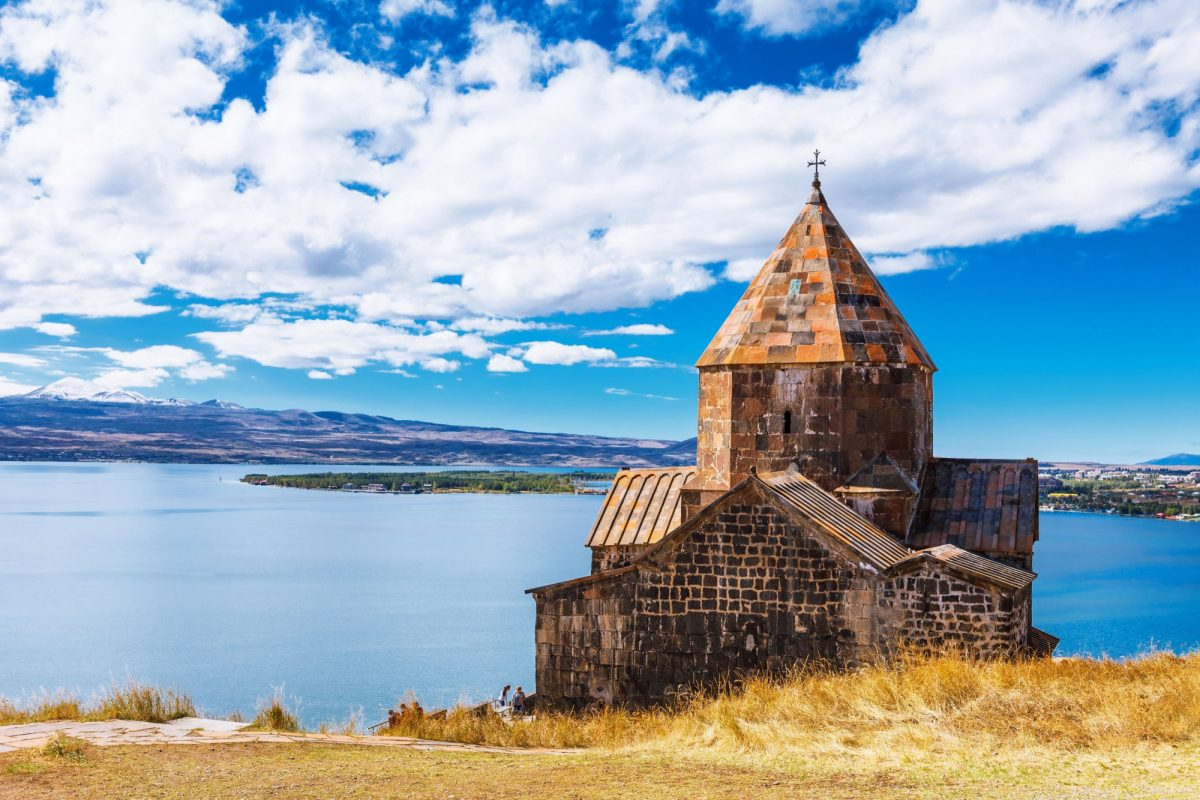 Armenia Sevanavank church in Sevan