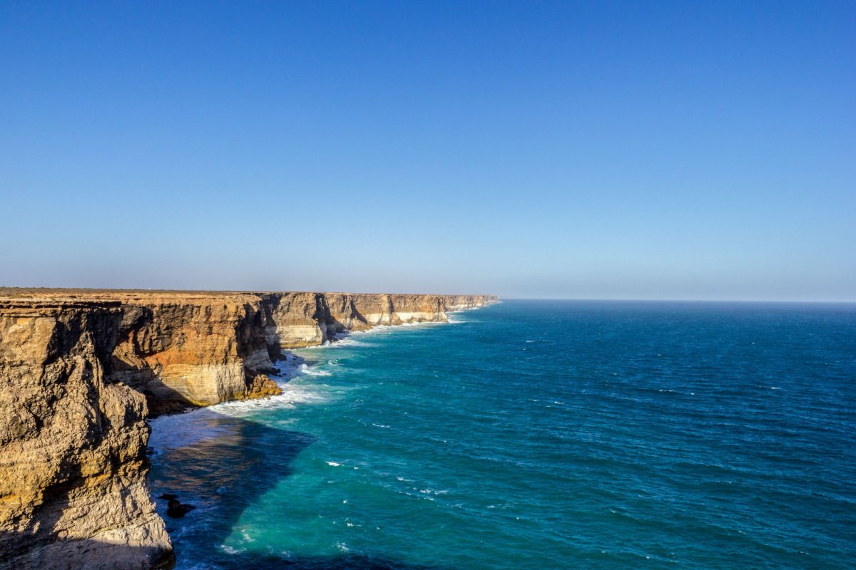 Australia head of Bight