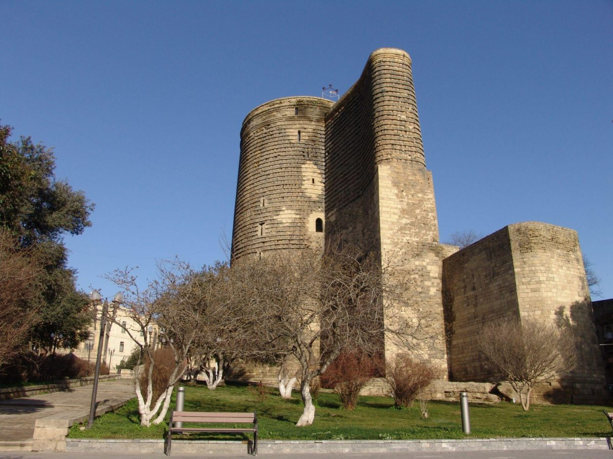 Azerbaijan Baku maiden tower