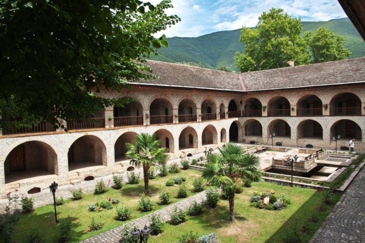Azerbaijan Sheki The Khans Palace3
