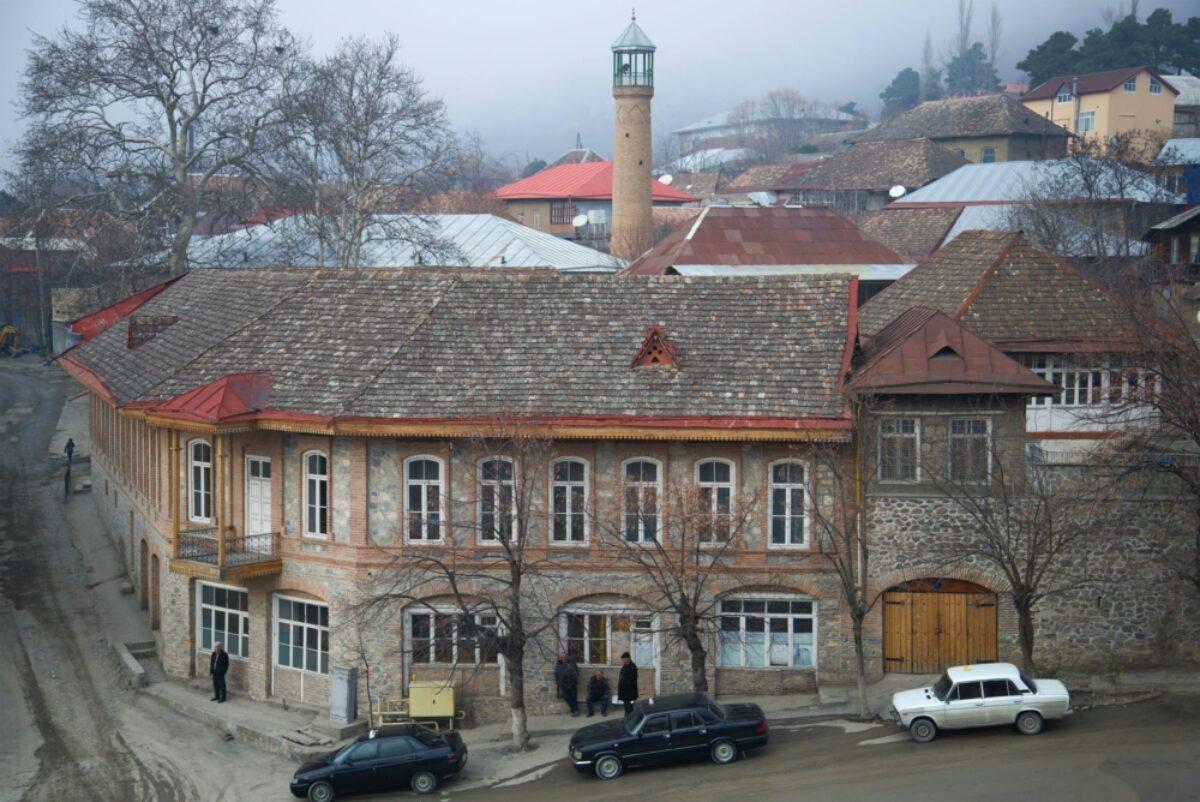 Azerbaijan Sheki architecture