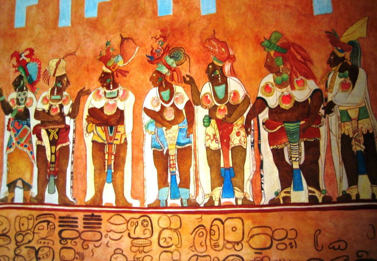 Bonampak mural
