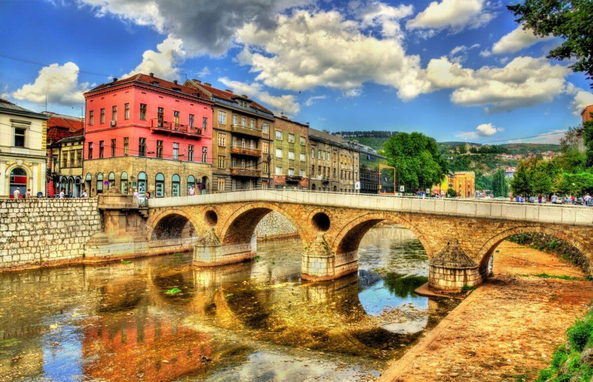 Bosnia Sarajevo latin bridge