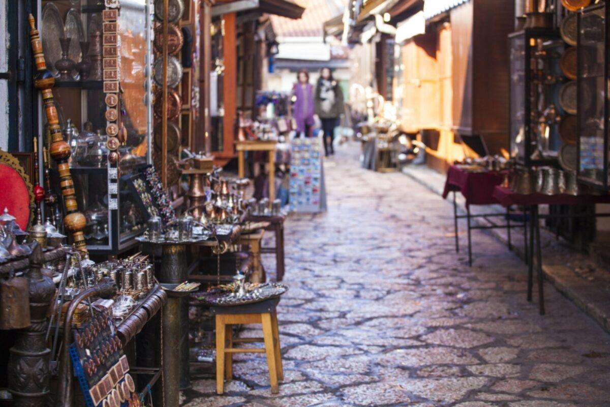Bosnia Sarajevo streets