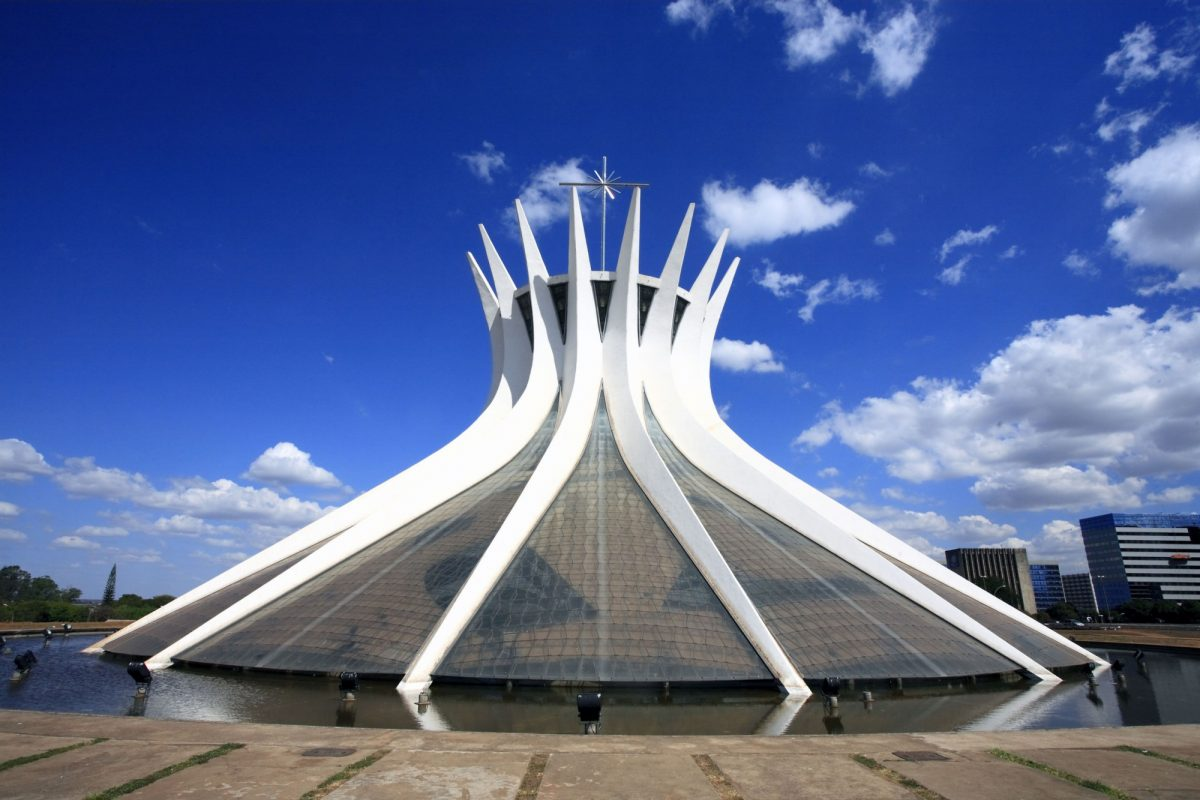 Brazil Brasilia cathedral of brasilia