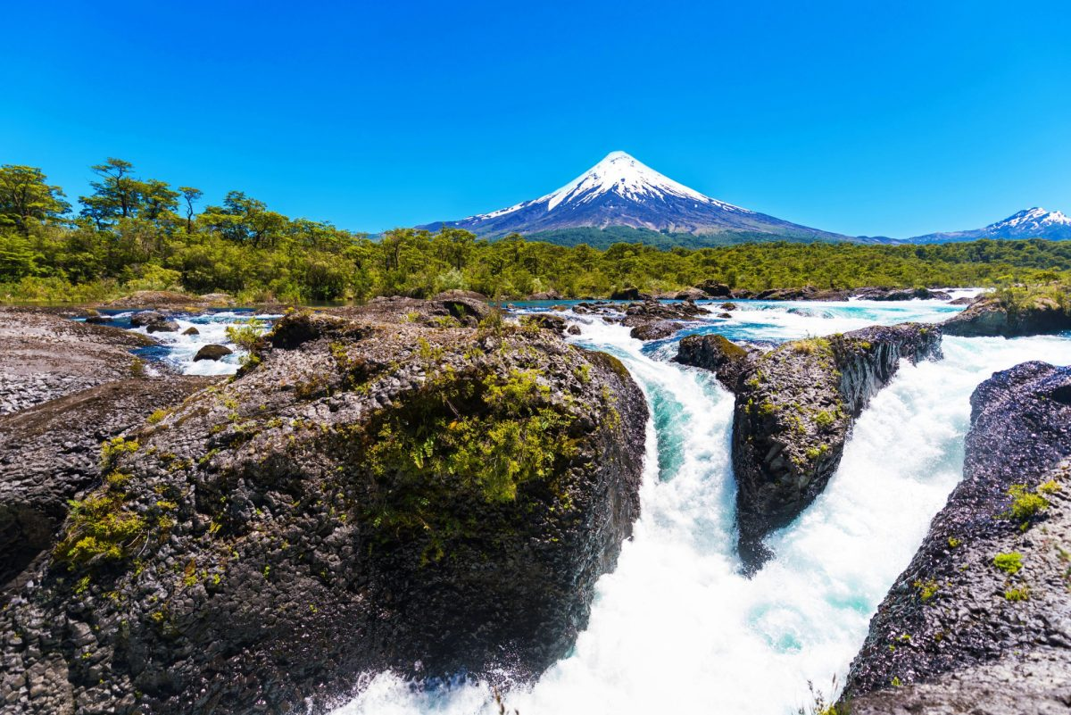 Chile Lake District Osorno Volcano